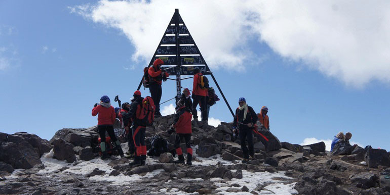 Mountain Toubkal Climb